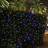 InnooTech Outdoor Christmas String Lights Solar Powered 100 LED Lights for Patio, Garden, Xmas Tree, Party, Wedding(Multi-color)
