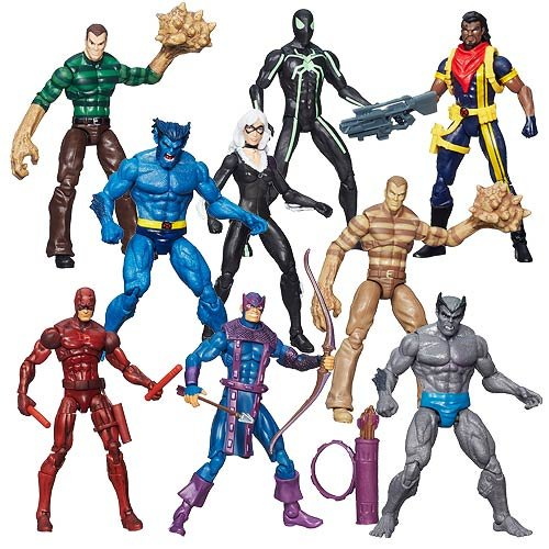 Marvel Infinite Action Figures Wave 5 Case