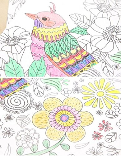 color therapy coloring books for adult relaxation diy stationery cards set with 32 designs coloring stationery note cards postcards hand drawn hand - Color Therapy Book