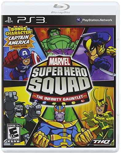 Marvel Super Hero Squad: The Infinity Gauntlet - Playstation 3 (Marvel Superheroes Lego Ps3 compare prices)