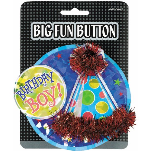 Birthday Boy Big Fun Button