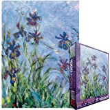 Eurographics Irises by Claude Monet 1000-Piece Puzzle