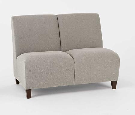 Lesro Q2402G3 Siena Series Armless 2 Seat Sofa