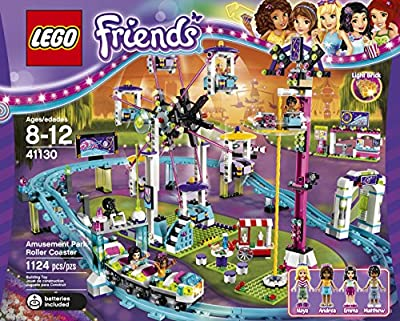 Lego Friends 41130 Amusement Park Roller Coaster Building Kit 1124 Piece by LEGO