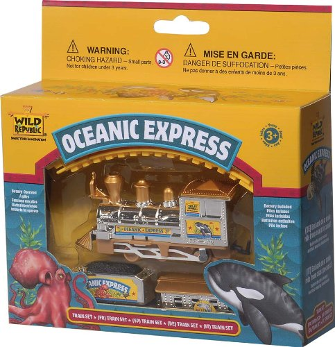 Wild Republic Oceanic Express Train