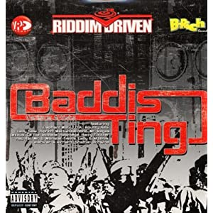 Baddis Ting Riddim cd cover