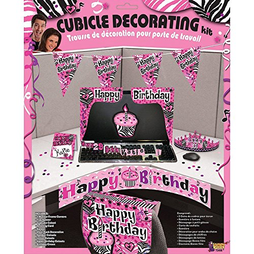 How To Decorate A Coworkers Cubicle For Her Birthday Joy