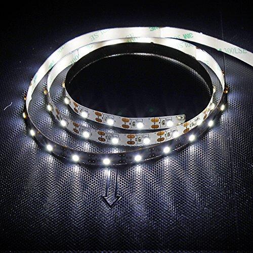 ESUMIC-100cm-Nicht-Wasserdichte-LED-Streifen-Licht-LED-Fernseher-Hintergrund-Laptop-Notebook-Beleuchtungs-Set-mit-USB-Kabel-60PCS-Leds-Wei