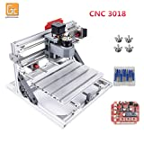 GBRL 3018 CNC Laser Machine Kit, 3 Axis GRBL Control USB Port DIY Mini Carving Milling Machine Working Area 30x18x4.5cm