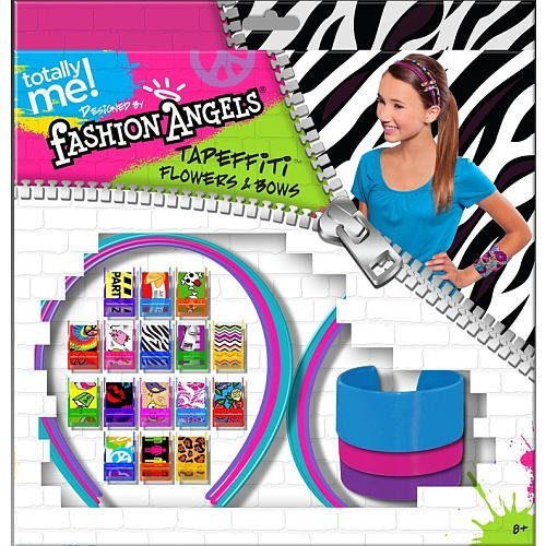 Totally Me! Fashion Angels Tapeffiti Flowers and Bows Headbands and Bangles Kit by Toys R Us