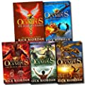 Heroes of Olympus Collection 5 Books Set (The Lost Hero The Son of Neptune The Mark of Athena, The Demigod Diaries, The House of Hades)