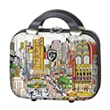 Heys USA Luggage Fazzino New York Wind Beneath Our Wings Hardside Beauty Case