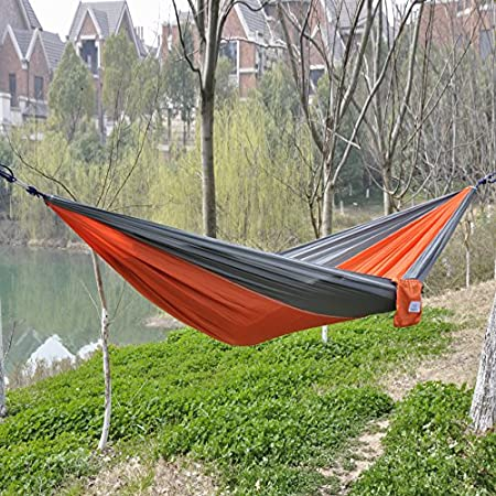 Features: 100% Brand new and High Quality. Durable, colorful and portable Easy to be cleaned and dry quickly after being wet Strong hammock with stand weight of 150Kg Easy fixing, just fix the hammock with 2 binding strings and tie the strings to tre...