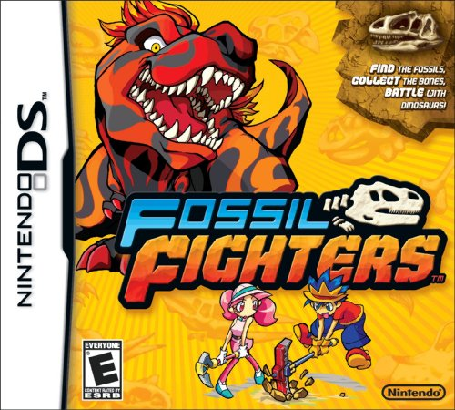 Fossil Fighters - Nintendo Ds front-312467
