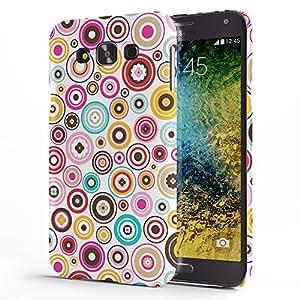 Koveru Back Cover Case for Samsung Galaxy E7 - Bubbles