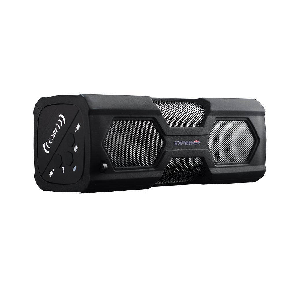 Expower(R) Water Resistant 2*3W Wireless Bluetooth 4.0 Speaker