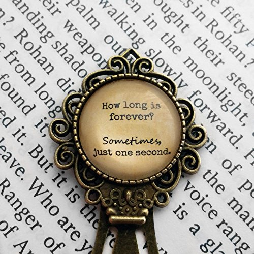 """Alice in Wonderland """"How long is forever. Sometimes, just one second """"Segnalibro"""