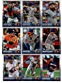 2015 Topps Baseball Cards Houston Astros Complete Master Team Set (Series 1 & 2 + Update - 43 Cards) With Carlos Correa Rookie (2 different), Nick Tropeano, Tony Sipp, Jason Castro, Matt Dominguez, Mike Foltynewicz, Jesus Guzman, Chris Carter in Protectiv