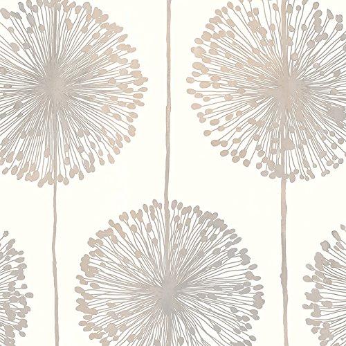 papel-de-pared-muriva-en-crema-plata-oro-con-dientes-de-leon-j04207
