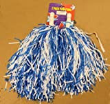 1 Pair Blue Cheerleading Pom Poms