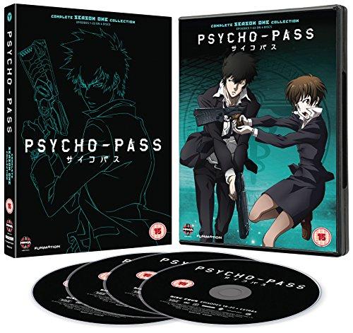 PSYCHO-PASS サイコパス 第1期 コンプリート DVD-BOX (全22話, 528分) Production I.G アニメ [DVD] [Import] [PAL, 再生環境をご確認ください]