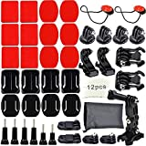 Erligpowht Outdoor Sports Kits for All GoPro Camera Models (16 Items)