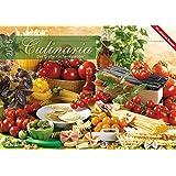 Culinaria 2015 - Der große Küchenkalender - Bildkalender (42 x 60 geöffnet) - Rezeptkalender - Küchenplaner