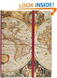 Old World Journal (Magnetic Closure) (Notebook, Diary) (Full Size Foldover Journals)