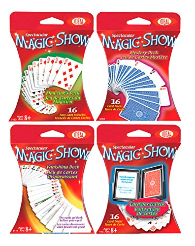 Ideal Spectacular Magic Show 16-Trick Card Box and Deck - 1