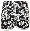 A-Express� Floral Black Shorts Size - Fit only (UK Size 12-14)