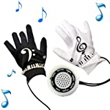 MOSTOP Newest Brand Music Electronic Piano Gloves with Musical Fingertips for Adult