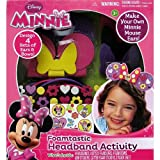 Disney Mickey Mouse& Friends Minnie Mouse Foamtastic Headband Activity Set