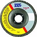 United Abrasives/SAIT 73897 5 by 7/8 Z 60X SAITlam UP Flap Disc, 10-Pack