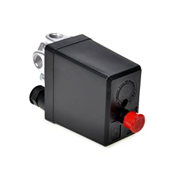 Air Compressor Pressure Switch Control Valve