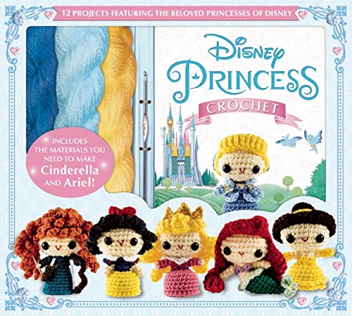 Disney Princess Crochet Kit and Amigurumi Pattern Book
