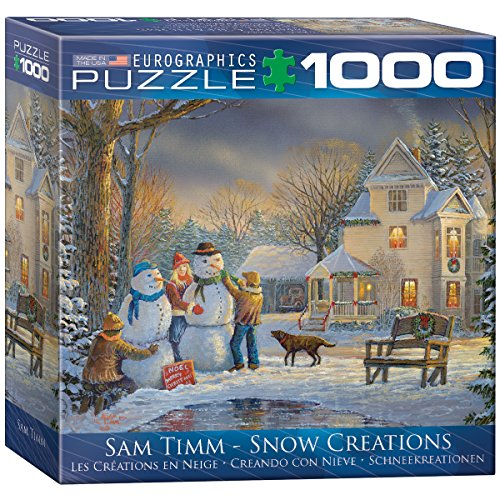 EuroGraphics Snow Creations Puzzle (1000-Piece)