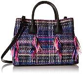 MILLY Logan Tweed Convertible Bag