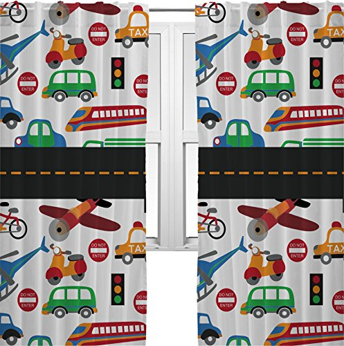 Transportation Curtains - 40X63 Lined front-831863