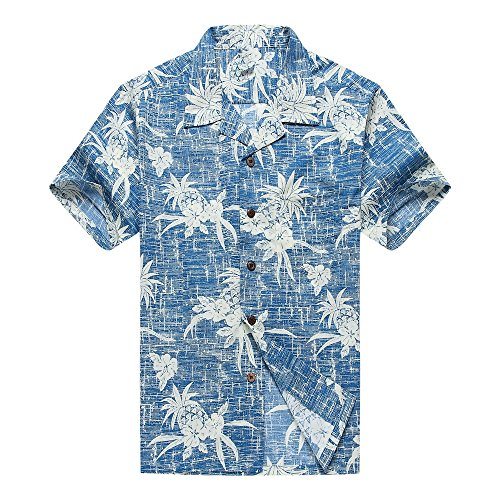 Men's Hawaiian Shirt Aloha Shirt in NEW CLASSIC DESIGN 0