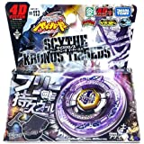 Beyblade Metal Fury 4 D Bb 113 Scythe Kronos T125 Eds