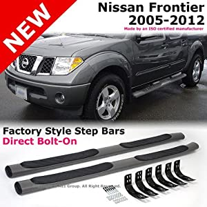 Amazon Com 2005 To 2012 Nissan Frontier Crew Cab Side