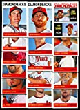2013 Arizona Diamondbacks Topps Heritage Baseball Complete Mint 15 Basic Card Team Set; It Was Never Issued in Factory Form. Cards Included Are #332 John Mcdonald, #304 Paul Goldschmidt, #225 Jason Kubel, #192 Brandon Mccarthy, #114 Cody Ross, #292 Trevor Cahill, #308 J.j. Putz, #326 Gerardo Parra, #327 Heath Bell, #328 Patrick Corbin, #259 Miguel Montero, #141 Daniel Hudson, #79 Chris Johnson, #102 Kirk Gibson, #185 Ian Kennedy and Rookie Stars Card #356 Adam Eaton & Tyler Skaggs.