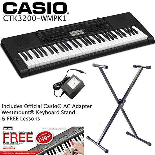 new-casio-ctk-3200-touch-sensitive-keyboard-westmountr-stand-ac-adaptor-exclusive-to-westmount-music