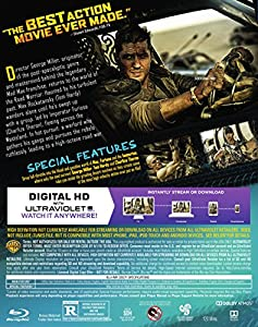 Mad Max: Fury Road (Blu-ray + DVD + Digital HD) from Warner Home Video