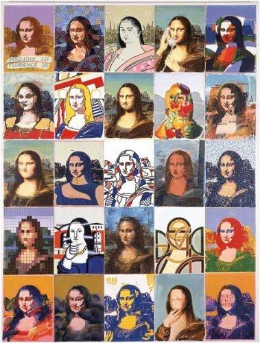 TDC Games 7806 Mona Lisa, Mona Lisa Edge Puzzle
