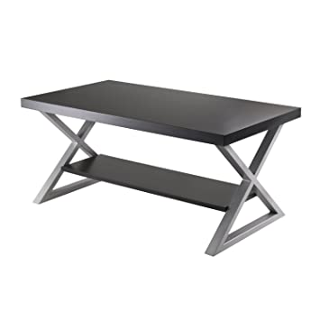 Korsa Coffee Table with Black Finish