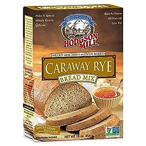 Amazon.com : Hodgson Mill Caraway Rye Bread Mix, 16-Ounce