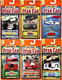 Star Cars Matchbox Series 2 Collection Complete 6 Car Set, Jaws, Smokey & The Bandit, Adam 12 Police, Animal House, Ferrari
