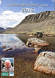 The Wainwright Society Calendar of the Lake District 2015 - large format, size A3 (297mm x 420 mm), with one page per month