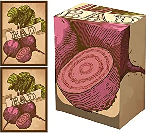 100 Legion Bad Beets Matte Sleeves + Deck Box (Combo Set) Standard Size for Magic the Gathering/MTG